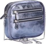 Valentino Women Casual Blue Genuine Leat...