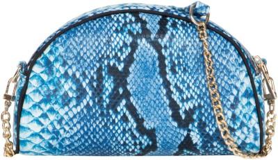 Cappuccino Girls Blue PU Sling Bag