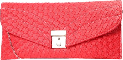 ARMADIO Girls Red Leatherette Sling Bag