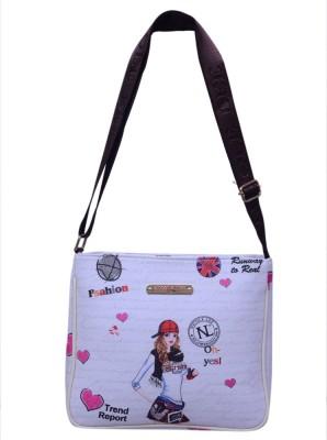 Ruff Girls, Women Multicolor PU Sling Bag