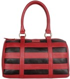 Justanned Women Red Genuine Leather Satc...