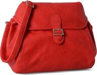 Baggit Women Red Leatherette Sling Bag