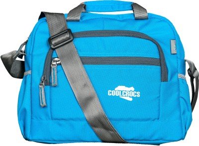 Coolcrocs Men, Women Blue Polyester Sling Bag