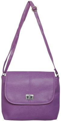 Bueva Women, Girls Purple PU Sling Bag