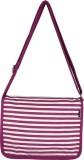 YOLO Women Formal Purple Canvas Sling Ba...
