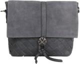 Heaven Deal Women Grey PU Sling Bag