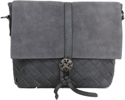 Heaven Deal Women, Girls Grey PU Sling Bag