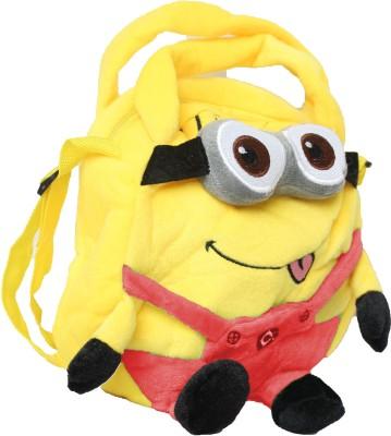 Hydes Girls, Boys Yellow, Orange Cotton Sling Bag