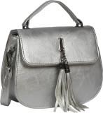 Bagkok Women Silver PU Sling Bag