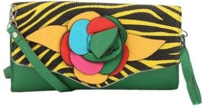 Maxi Fashion Women, Girls Multicolor PU Sling Bag