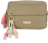 D'oro Women Brown Leatherette Sling Bag