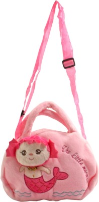 SJ Girls Multicolor Polyester Sling Bag