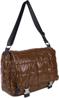 Just Women Girls Casual Brown PU Sling Bag