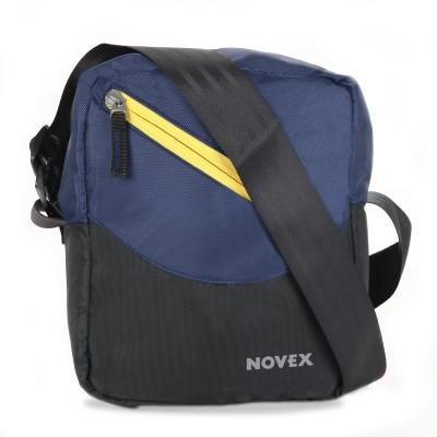 Novex Men, Boys, Girls Blue Nylon Sling Bag