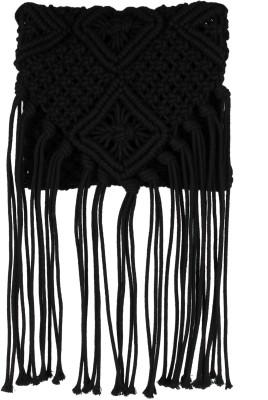 20Dresses Women Black Nylon Sling Bag