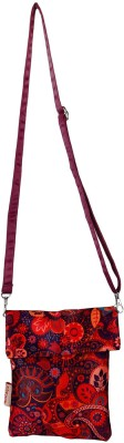 Nostaljia Women Multicolor Polyester Sling Bag