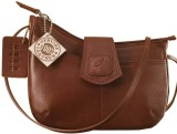 eZeeBags Women Maroon Genuine Leather Sl...