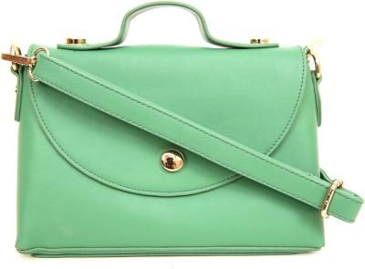 AQ Women Casual Green PU Sling Bag