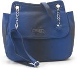 Falah Bag Works Women Blue PU Sling Bag