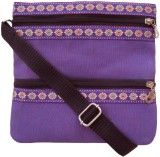 Jutecentral Women Purple Juco Sling Bag