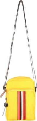 Aquila Women Yellow Nylon Sling Bag