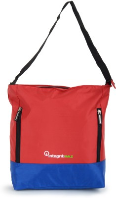 Integriti Women Multicolor Polyester Hand-held Bag