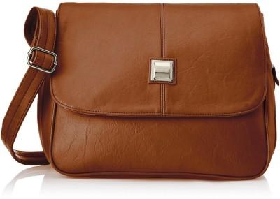 Fostelo Women Tan PU Sling Bag