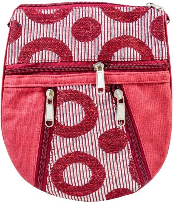 Mpkart Girls Casual Maroon Juco Sling Bag