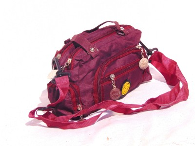 Chaklu Paklu Girls Maroon PU Sling Bag