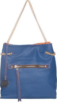 Elespry Women Blue, Orange PU Sling Bag