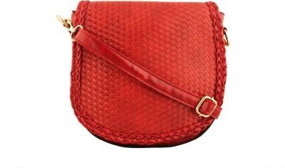 Damit Girls, Women Red PU Sling Bag