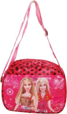Oril Girls Pink, Red Polyester Sling Bag