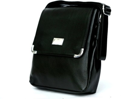 Pick Ur Bags Women Black Genuine Leather Sling Bag