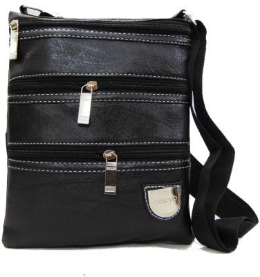Estoss Women Casual Black PU Sling Bag