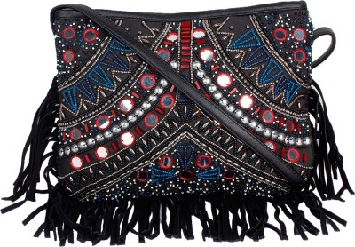 Tiara Women Multicolor Beads Sling Bag