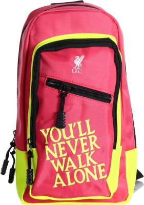 Liverpool FC Men, Women Pink Polyester Sling Bag