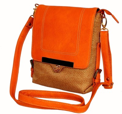 Stonkraft Women, Girls Casual Multicolor Jute Sling Bag
