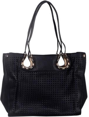 Prezia Women Black PU Sling Bag