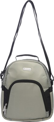 Harissons Men, Women Casual Grey Nylon Sling Bag