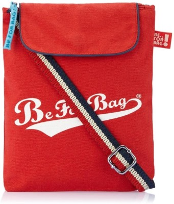 Be for Bag Women Casual Red Canvas Sling Bag
