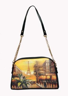 Bagmire Girls Multicolor Leatherette Sling Bag