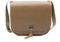 Landmesser Women Brown Genuine Leather Sling Bag