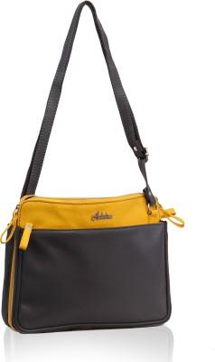 Adaira Girls Casual Grey PU Sling Bag
