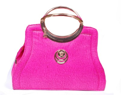 SK-Effects7 Women Pink Leatherette Hand-held Bag