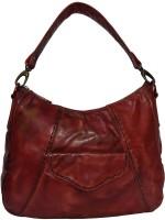 pellezzari Women Red Genuine Leather Hobo