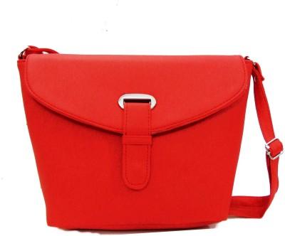 Estoss Women Casual Red PU Sling Bag