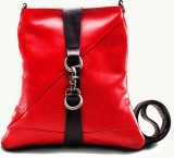 TWACH Women Casual Red Genuine Leather S...
