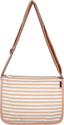 Yolo Women Formal Pink Canvas Sling Bag