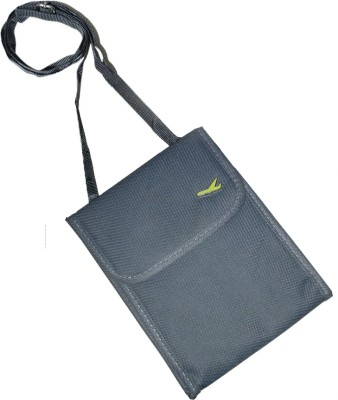 SRB Men & Women Grey Canvas Messenger Bag