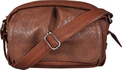 Osaiz Girls, Women Brown PU Sling Bag